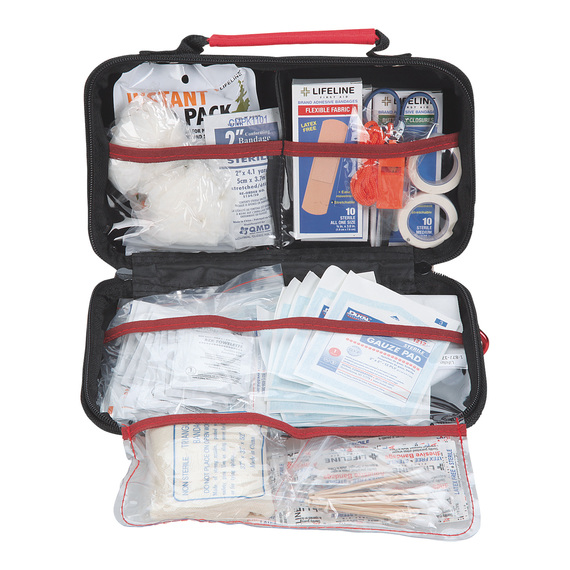 Deluxe 121-Piece First Aid Kit