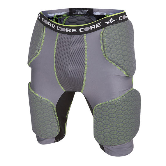 Youth's Integrated Five-Pad Football Girdle