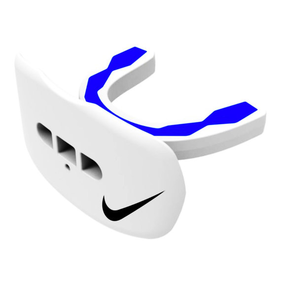 Hyperflow Lip Protector Mouthguard - White/Blue