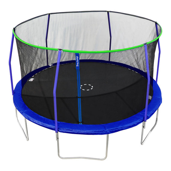 14' Trampoline with Safety Enclosure  - view 1