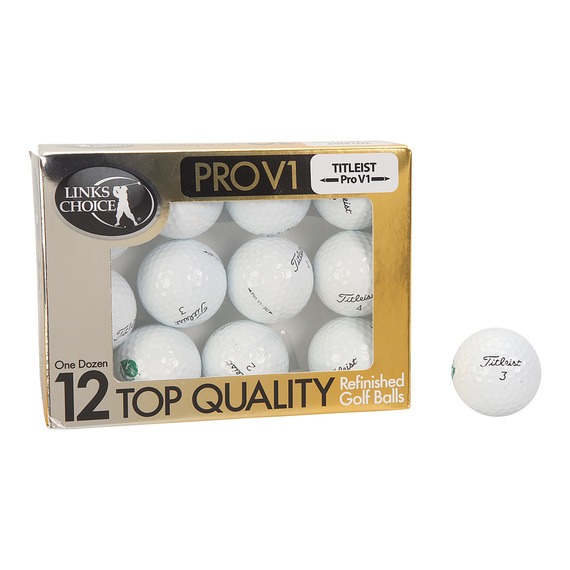 Titleist ProV1 Refinished Golf Balls - 12 Golf Balls  - view 1