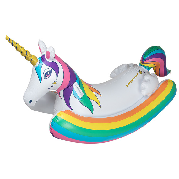 Unicorn Rocker Inflatable Pool Float