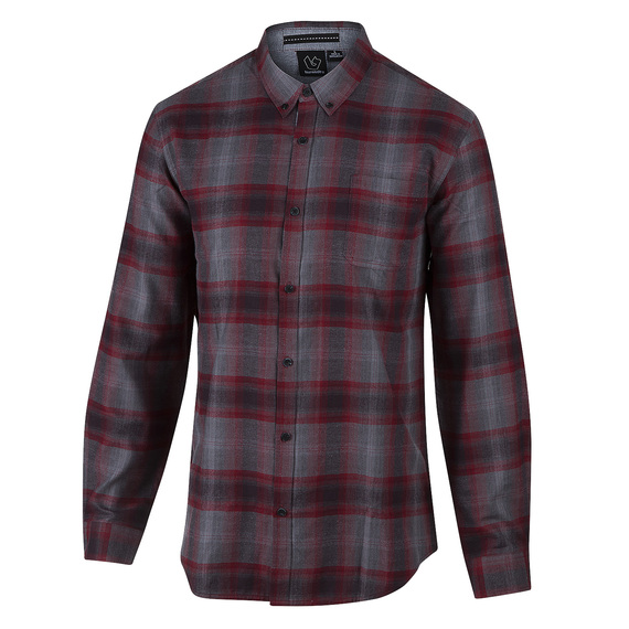 Men's Long-Sleeve Plaid Shirt