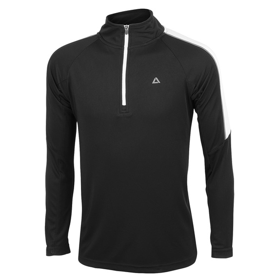 Youth's 1/4 Zip Long-Sleeve Top  - view 1