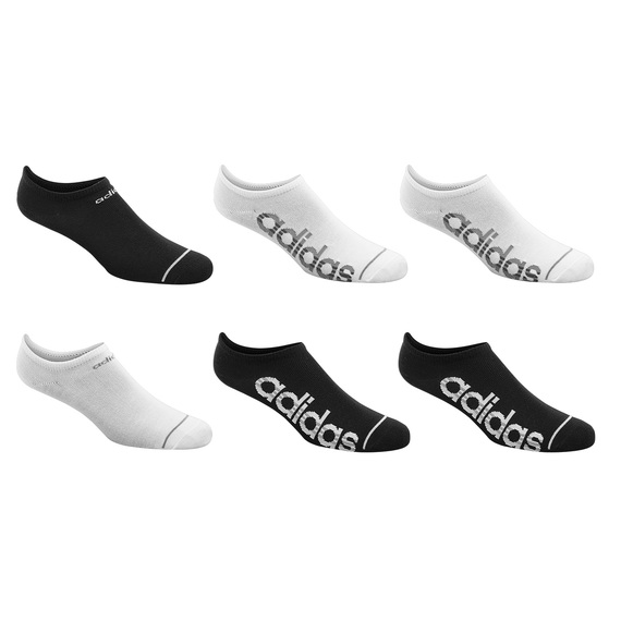 Core 3-Stripes No-Show Socks - 6-Pack  - view 1