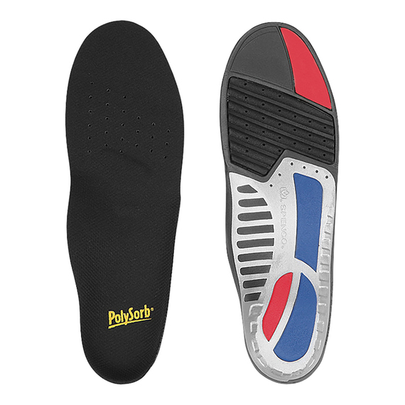 Total Support Semi-Rigid Orthotic Arch Support Insoles  - view 1