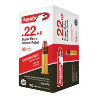 Aguila Ammunition .22LR Super Extra Hollow Point Ammo - 500 Rounds