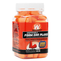 Walkers Game Ear Foam Ear Plugs - 100 Count