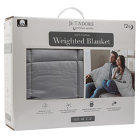 Je T'adore 12 lb. Cotton Weighted Blanket