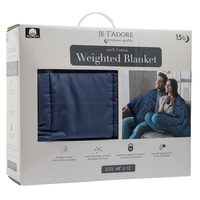 Je T'adore 15 lb. Cotton Weighted Blanket
