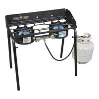 Camp Chef Silverado 60,000 BTU 2-Burner Stove