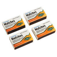 Stansport Waterproof Matches - 4 Box Pack