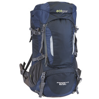 Ecogear Pinnacle 65L Internal Frame Backpack