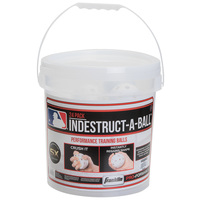 Franklin MLB Indestruct-a-Ball Bucket of 9