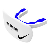 Nike Hyperflow Lip Protector Mouthguard - White/Blue