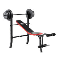 Marcy Pro Weight Bench with 100-lb. Weight Set