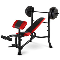 Competitor Pro Weight Bench with 100-lb. Weight Set