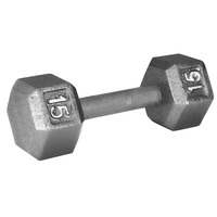 WEIDER 15 lb. Hex Dumbbell