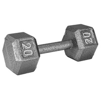WEIDER 20 lb. Hex Dumbbell