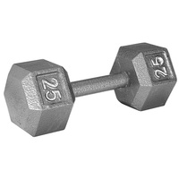 WEIDER 25 lb. Hex Dumbbell