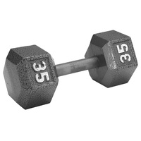 WEIDER 35-lb. Hex Dumbbell