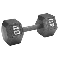 WEIDER 40-lb. Hex Dumbbell