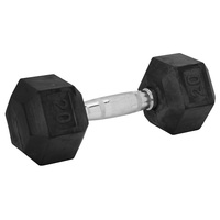 WEIDER 20-lb. Rubber Hex Dumbbell
