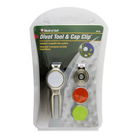 JEF World of Golf Divot Tool and Cap Clip