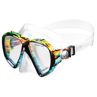 Maui & Sons Rasta Mask and Snorkel Combo