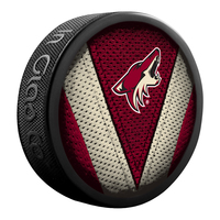 SHER-WOOD NHL Phoenix Coyotes Hockey Puck