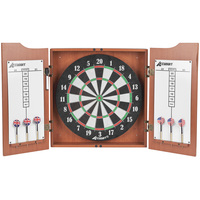 Accudart Heritage Dartboard and Cabinet Set