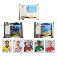 Panini America 2018 FIFA World Cup Stickers - 5 Pack Assorted