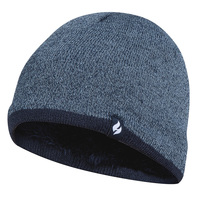 Heat Holders Boys' Flat Knit Beanie
