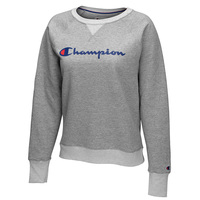 Champion Women's Script Fleece Pullover Sweatshirt