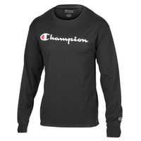 Champion Men's Long Sleeve Graphic Tee