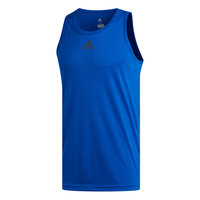 adidas Men's Heathered Basketball Tank