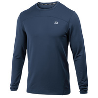TEC-ONE Men's Fitted-Not-Tight Long-Sleeve Crew