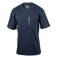 Walls Men's Heavyweight Short-Sleeve Pocket T-Shirt