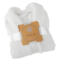 Veleta Luxury Plush Robe