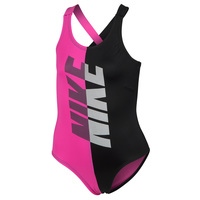 Nike Girls' Rift Prism X-Back One-Piece Swimsuit