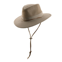 Dorfman Men's Safari Twill Hat
