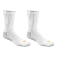 POWERSOX Pro-Thicks Athletic Crew Socks - 2-Pack