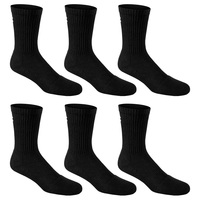 Under Armour Charged Cotton 2.0 Crew Socks - 6-Pack