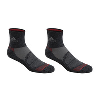 adidas Men's Superlite Prime Mesh III Quarter-Crew Socks - 2-Pack