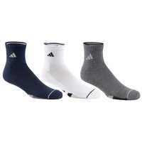 adidas Men's Color Quarter Crew Socks - 3-Pack