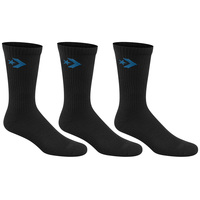 Converse Men's Cushioned Crew Socks - 3-Pack