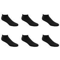 Spalding Men's Recycled No-Show Socks - 6-Pack