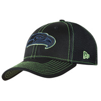 New Era NFL Shock Stitch Neo Black 39Thirty Cap