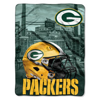 The Northwest Company Official NFL Heritage Silk-Touch Throw Blanket
