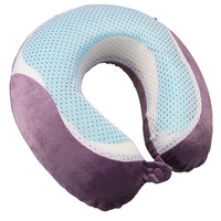 Luxe Gel Memory Foam Travel Pillow